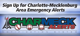 emergency notifications from CharMeck Alerts