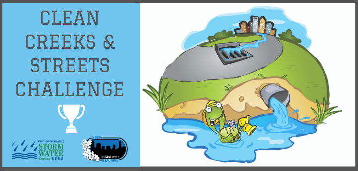 Clean Creeks & Streets Challenge Logo