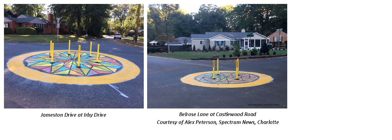 Neighborhood Traffic Circle Pictures