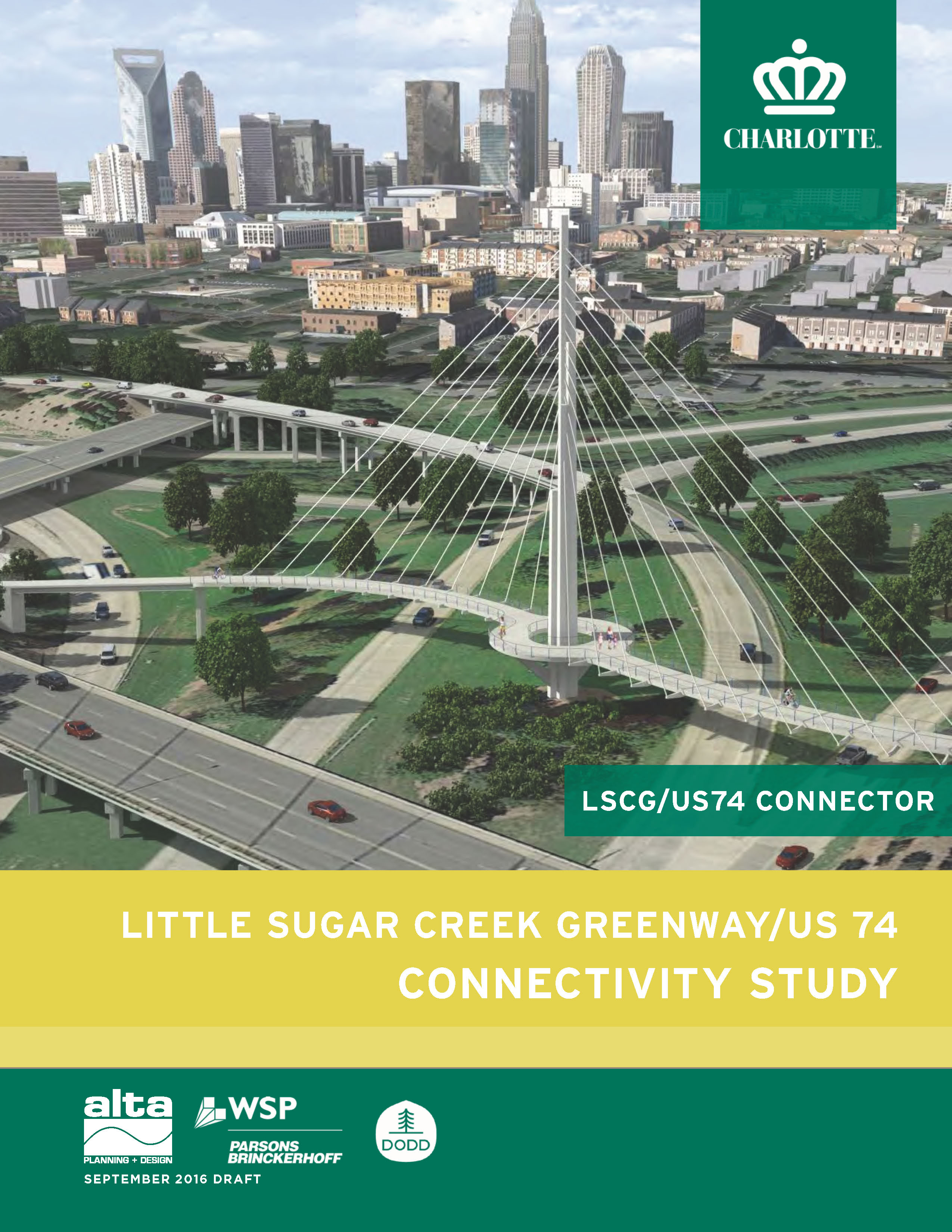 Little Sugar Creek Greenway/US 74 connectivity study